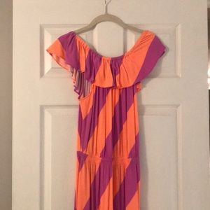 Lilly Pulitzer Striped Maxi Dress